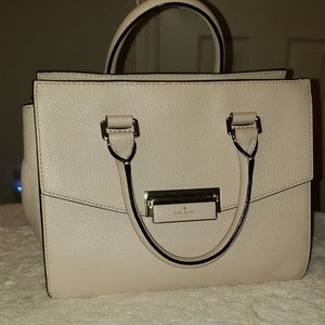 Kate Spade Cream Pebbled Leather Purse